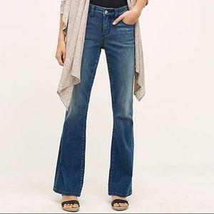 Pilcro Stet Mid-Rise Flare Jeans